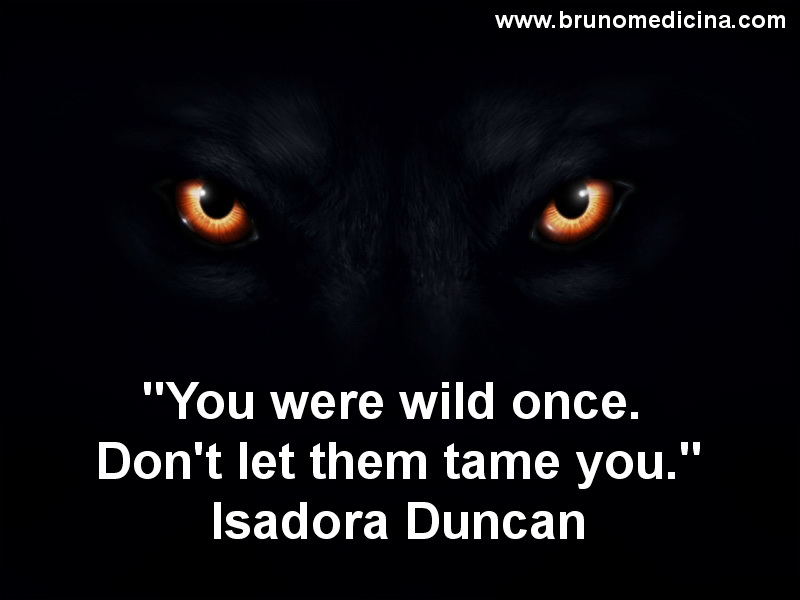 Isadora Duncan Wolf